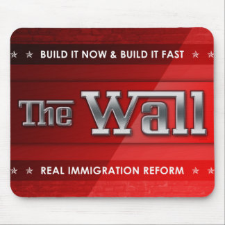 Build The Wall Mousepads