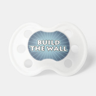 Build The Wall Pacifier