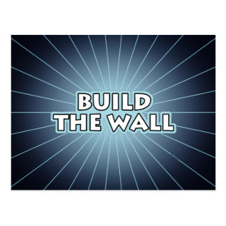 Build The Wall Postcard