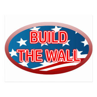BUILD THE WALL POSTCARD