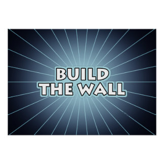 Build The Wall Poster