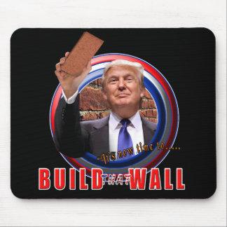 Build the Wall President Donald Trump Mousepad
