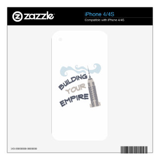 Build You Empire Decal For The iPhone 4S
