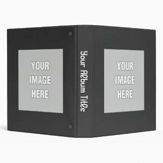 Build Your Own Album 3 Ring Binder