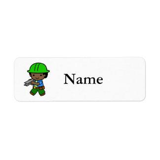 Builder Boy 2 Label