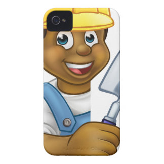 Builder Bricklayer Construction Worker Trowel Tool iPhone 4 Case