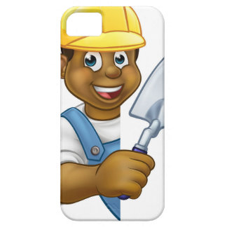 Builder Bricklayer Construction Worker Trowel Tool iPhone SE/5/5s Case