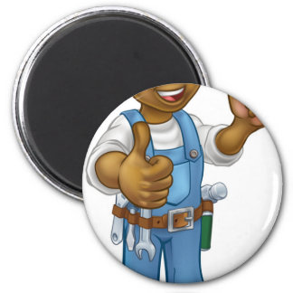 Builder Bricklayer Construction Worker Trowel Tool Magnet