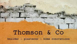 Home renovation business cards templates zazzle builder plasterer home renovation business card colourmoves