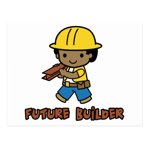 Builder Postcard