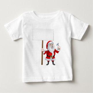 Builder Santa Sign Baby T-Shirt