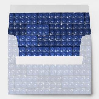 Builder's Bricks - Blue Envelope