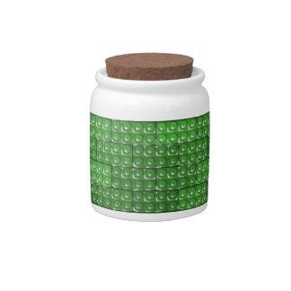 Builder's Bricks - Green Candy Dish