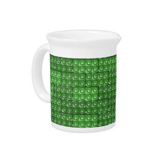 Builder's Bricks - Green Drink Pitcher