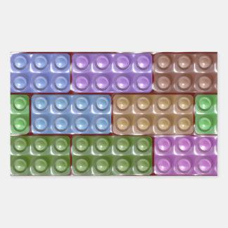 Builder's Bricks - Pastel Sticker