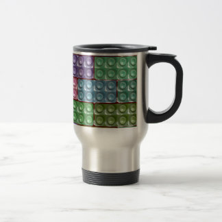 Builder's Bricks - Pastel Travel Mug