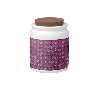 Builder's Bricks - Pink Candy Jar
