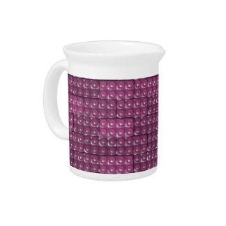 Builder's Bricks - Pink Drink Pitcher