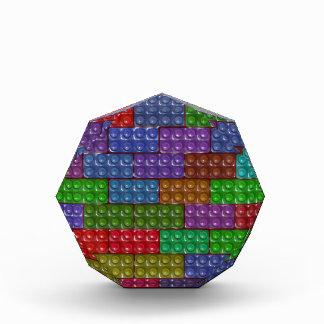 Builder's Bricks - Rainbow Acrylic Award