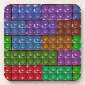 Builder's Bricks - Rainbow Coaster