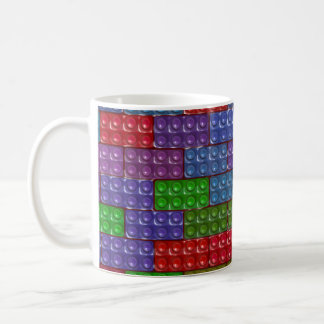Builder's Bricks - Rainbow Coffee Mug