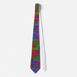 Builder's Bricks - Rainbow Tie
