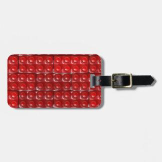 Builder's Bricks - Red Bag Tag