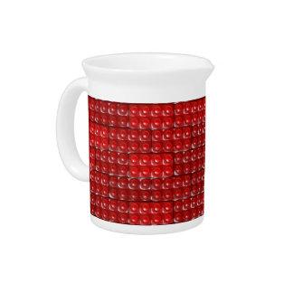 Builder's Bricks - Red Beverage Pitcher