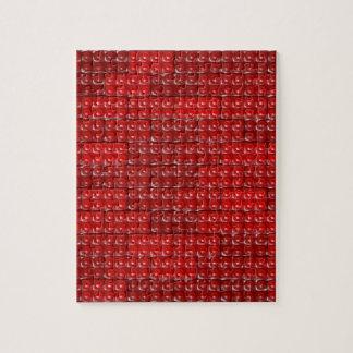 Builder's Bricks - Red Jigsaw Puzzle