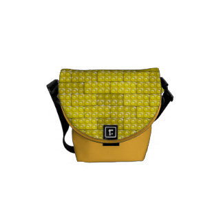 Builder's Bricks - Yellow Courier Bag