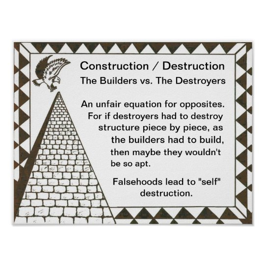 Builders vs. Destroyers Poster
