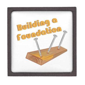 Building A Foundation Premium Trinket Box