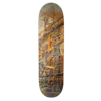 Building a magic moment Downtown San Francisco Skate Decks