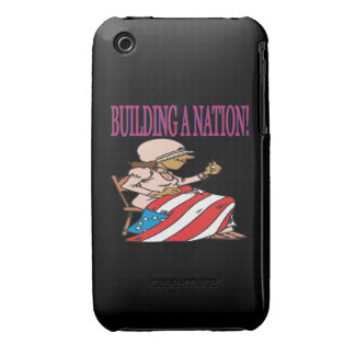Building A Nation iPhone 3 Case