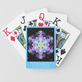 Building A New World Bicycle Playing Cards