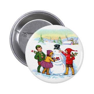 Building a Snowman Pins