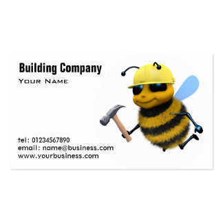 Building and Construction Business Cards