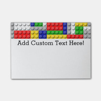 Building Block Boy's Birthday Party Post-it® Notes