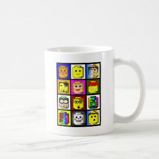 Building Block Heads mug