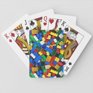 Building Blocks Construction Bricks cards