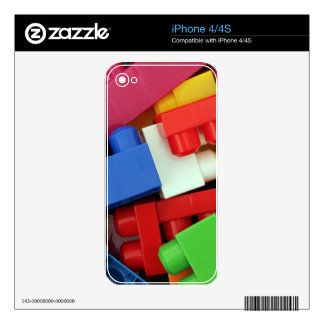 Building Blocks Decal For The iPhone 4S