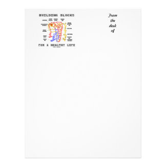 Building Blocks For A Healthy Life Kidney Nephron Letterhead