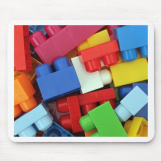 Building Blocks Mouse Pad
