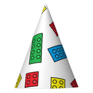 """Building Blocks"" Party Hats"