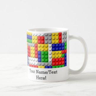 Building Blocks Primary Color Boy's Birthday/Party Coffee Mug