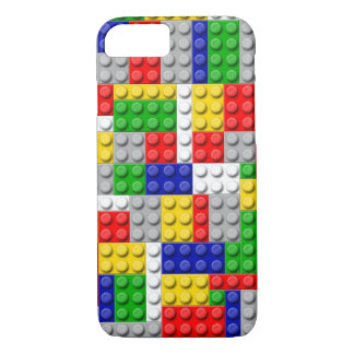 Building Blocks Primary Color Boy's Birthday/Party iPhone 8/7 Case