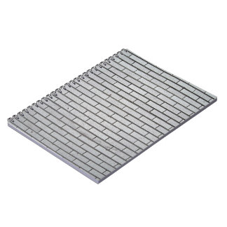 Building Brick Wall Notebook