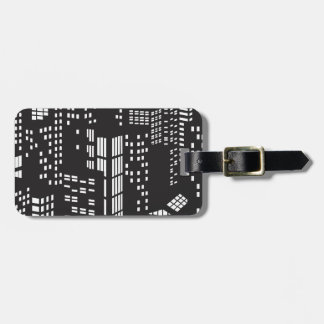 Building, buildings, structure, architecture, city luggage tag