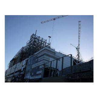 Building Construction Plant/Site Postcard