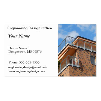 building engineer Double-Sided standard business cards (Pack of 100)